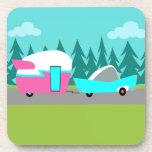Retro Camper / Trailer and Car Coasters