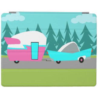 Retro Camper / Trailer and Car iPad Cover