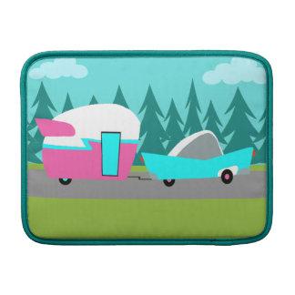 Retro Camper / Trailer and Car MacBook Air Sleeve