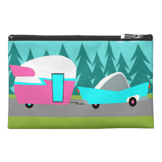 Retro Camper / Trailer & Car Travel Accessory Bag