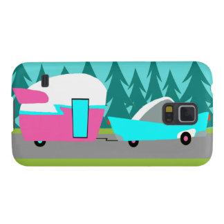 Retro Camper / Trailer Samsung Galaxy S5 Case