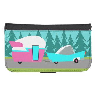 Retro Camper / Trailer Smartphone Wallet Case