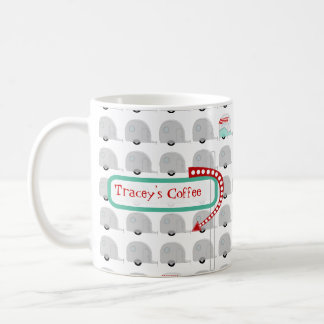 Retro Campers in Gray Mug