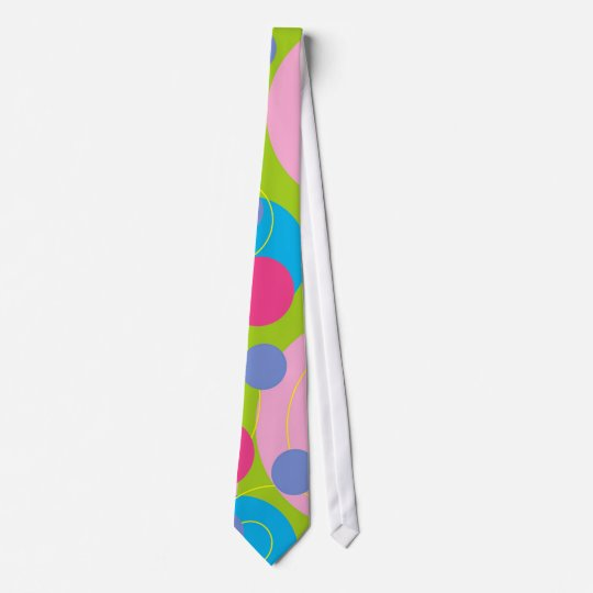 Retro Candy Pink Tie