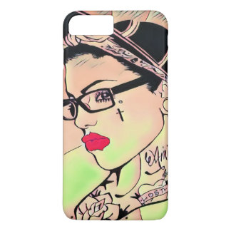 retro candy pop chick iphone 7 plus case