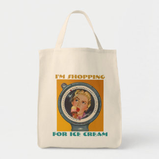 """RETRO """"CAPTIVE OF THE SCALE"""" SHOPPING TOTE BAG"""