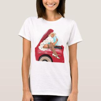Retro Car and Model T-Shirt