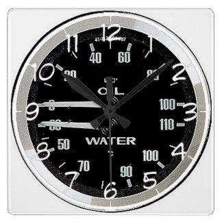 """Retro car clock"" design wall clock"