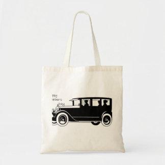 Retro Car - Father's Day Tote Bag