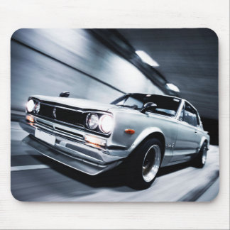 Retro Car Mouse Pad