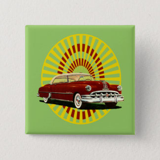 Retro Car Pinback Button