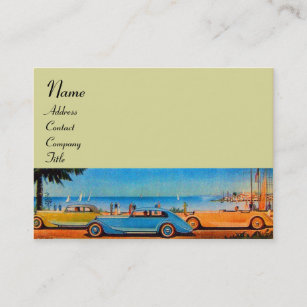 Car steering wheel business cards zazzle retro cars auto repair automotive business card reheart Image collections