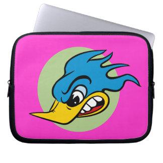 Retro Cartoon Bird Laptop Sleeve