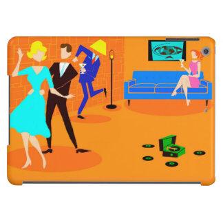 Retro Cartoon Cocktail Party iPad Air Case