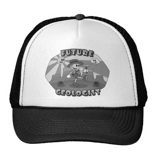 Retro Cartoon- Future Geologist Mesh Hat