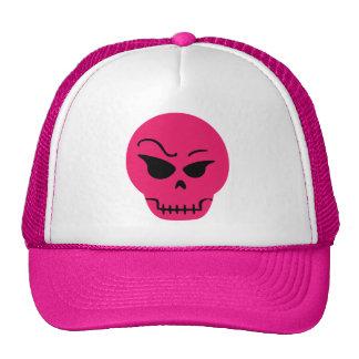 Retro Cartoon Skull Mesh Hats