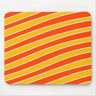 Retro Cartoon Stripes Mousepad