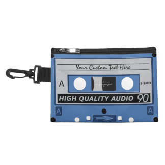 Retro Casette Tape custom accessory bag
