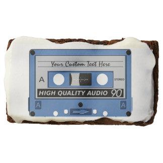 Retro Casette Tape custom brownies