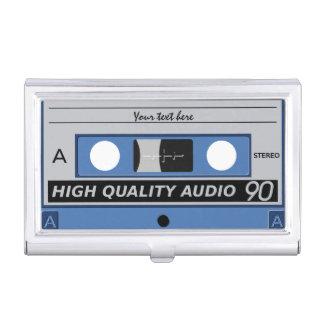 Retro Casette Tape custom business card holder