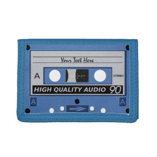 Retro Casette Tape custom wallets