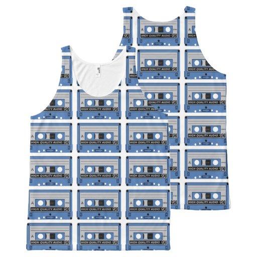 Retro Casette Tape tanktop All-Over Print Tank Top Tank Tops, Tanktops Shirts