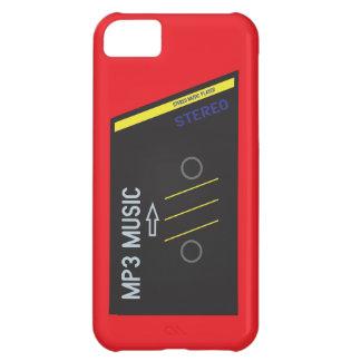 Retro Cassete Player RED iPhone 5C Cover