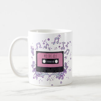 Retro Cassette Mix Tape Coffee Mug