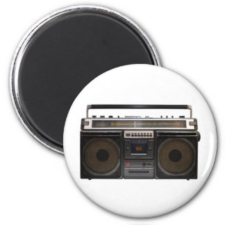 retro cassette player music hipster stereo tape vi 2 inch round magnet