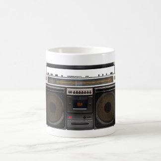 retro cassette player music stereo tape vintage coffee mug