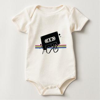 Retro Cassette Rainbow Bodysuit