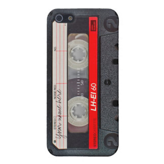 Retro cassette tape case