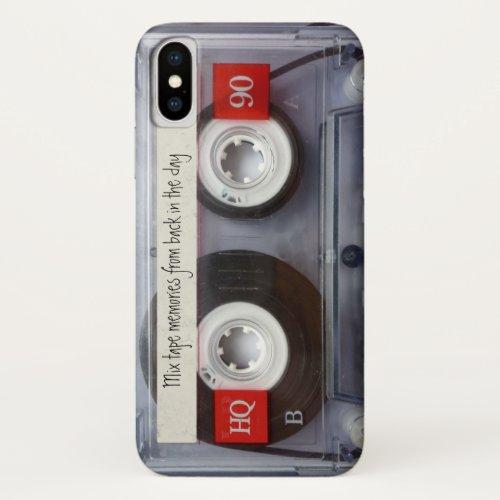 Retro Cassette Tape Phone Case