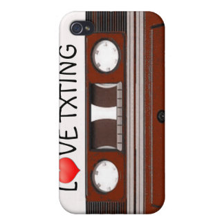 Retro Cassette Tape Cover For iPhone 4