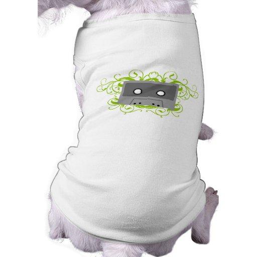 Retro Cassette Tape Doggie Shirt