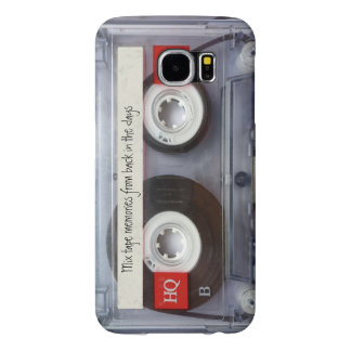 Retro Cassette Tape Funny Personalized Samsung Galaxy S6 Cases