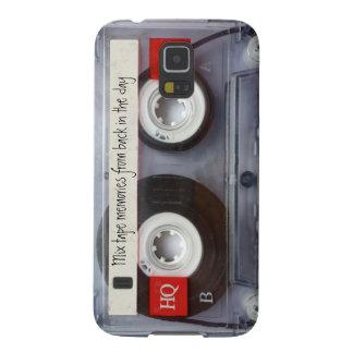 Retro Cassette Tape Galaxy S5 Cover