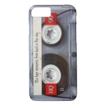 Retro Cassette Tape iPhone 8/7 Case