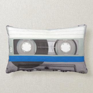 Retro Cassette Tape Lumbar Pillow