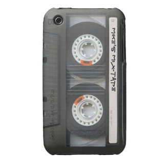 Retro Cassette Tape Mix-Tape Case-Mate iPhone 3 Cases