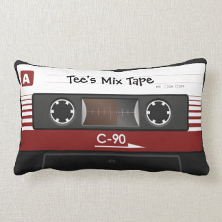 Retro Cassette Tape Pillow