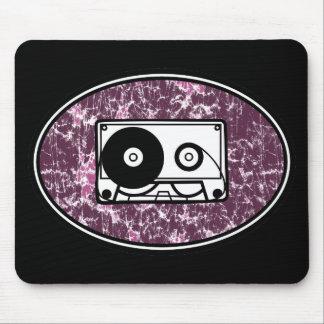 Retro Cassette Tape Pink Mouse Pad