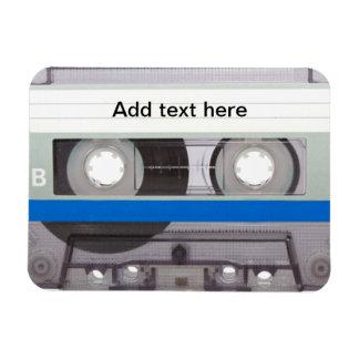 Retro Cassette Tape Rectangular Photo Magnet