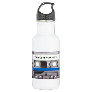 Retro Cassette Tape Stainless Steel Water Bottle