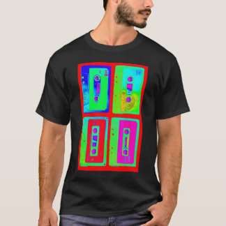 Retro Cassette Tape Throw Back T-Shirt