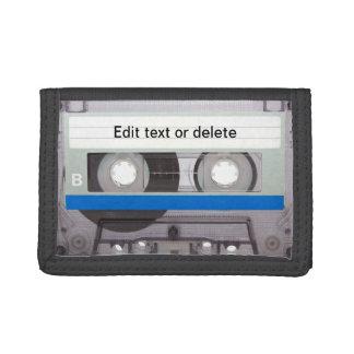 Retro Cassette Tape Trifold Wallet