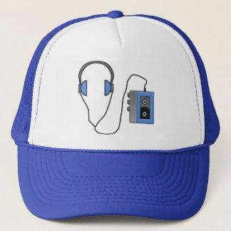 RETRO CASSETTE TAPE WALKMAN Trucker Hat