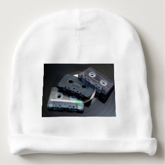 Retro Cassette Tapes Baby Beanie