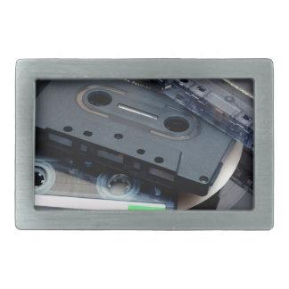 Retro Cassette Tapes Belt Buckle