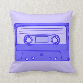 Retro Cassette Throw Pillow